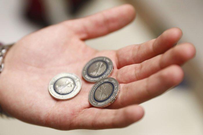 Νομισμα 5 ευρώ Γερμανία1