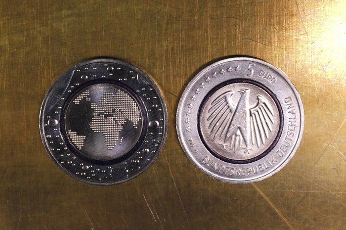 Νομισμα 5 ευρώ Γερμανία